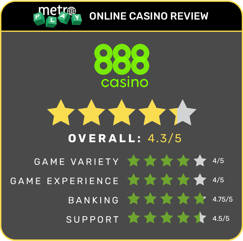 888 Online Casino Review