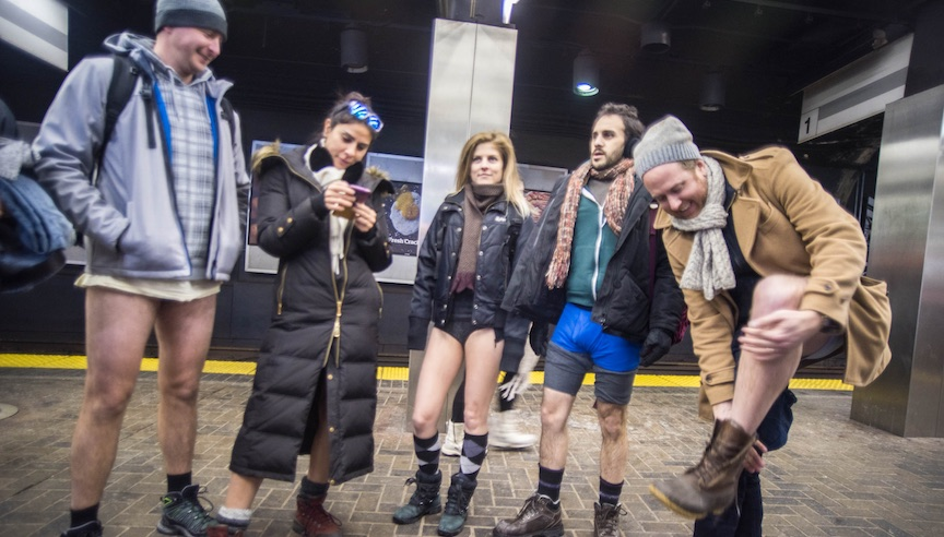 everything you need to know no pants subway ride 2019 nyc