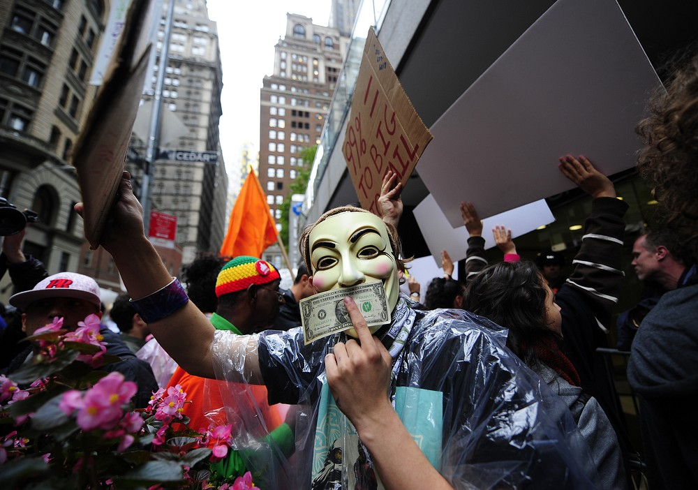 Occupy Wall Street photos