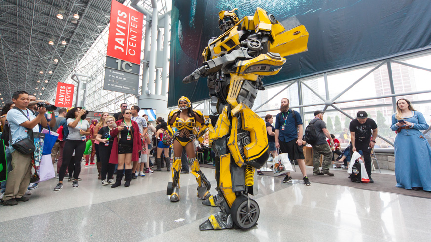 nycc 2018 new york comic con costumes cosplay 7 train canceled javits center