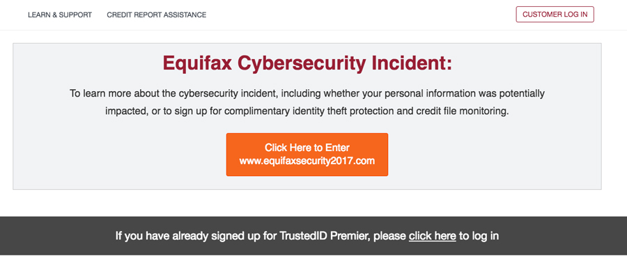 Equifax hacked for second time