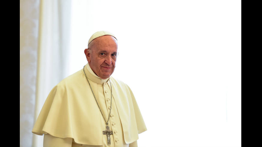 Pope Francis has not made a statement yet on the latest Catholic sex abuse scandal.
