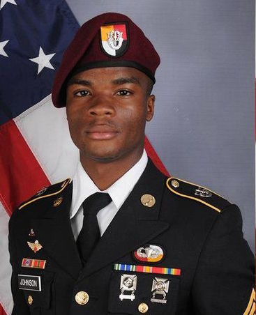 sgt. la david t. johnson, trump, niger