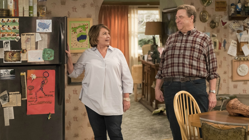 Roseanne won't focus on political storylines as much next season