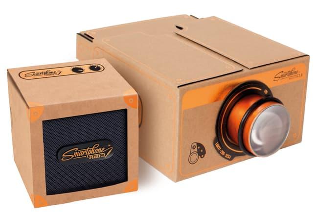 Paper Source Vintage Copper Smartphone Projector