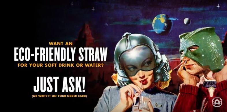 alamo drafthouse brooklyn   plastic straw ban