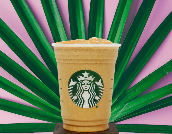 Almond Blended Starbucks Protein Cold Brew