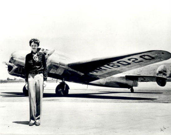 Fun facts about Amelia Earhart