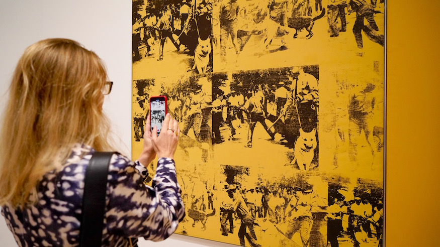 any warhol exhibit whitney museum retrospective nyc from a to z and back again photos