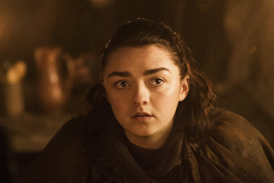 Arya Stark Chillin