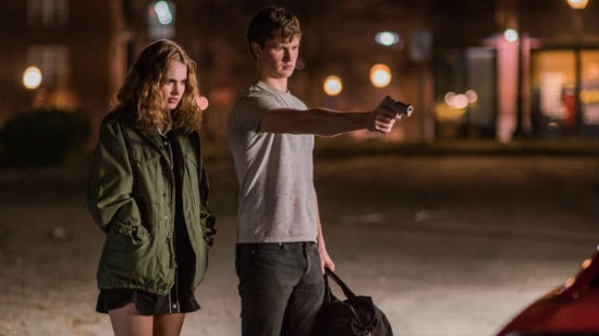 Ansel Elgort and Lily James in Baby Driver. Elgort to star in West Side Story remake