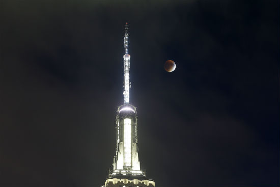 Blood Moon 2018 New York