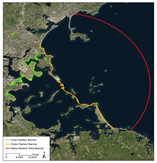 boston harbor barrier