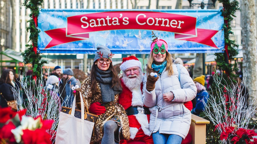 bryant park winter village things to do in nyc holiday markets