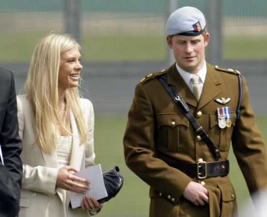 About Prince Harry's ex Chelsy Davy