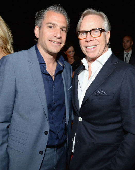 Christian Carino and Tommy Hilfiger