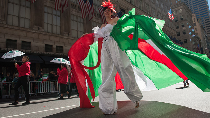 NYC Columbus Day Parade street closures and MTA service changes