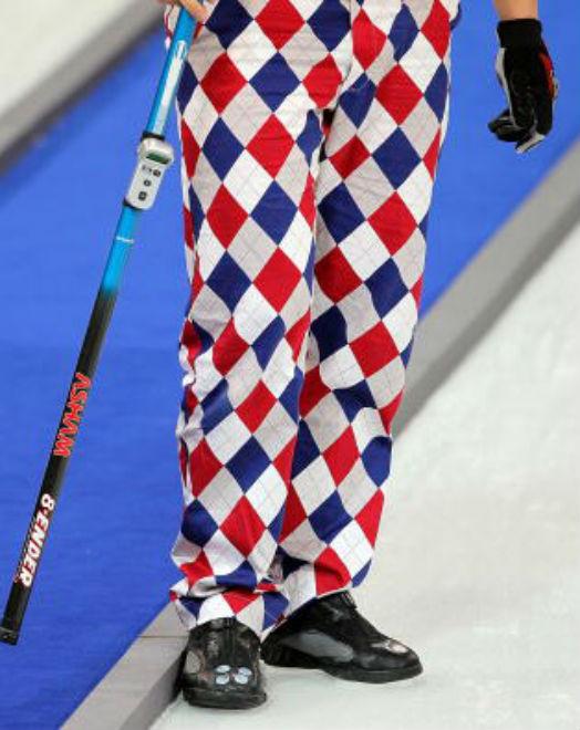 Crazy Curling Pants