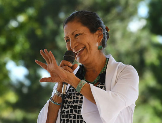 Deb Haaland 2018 midterm election