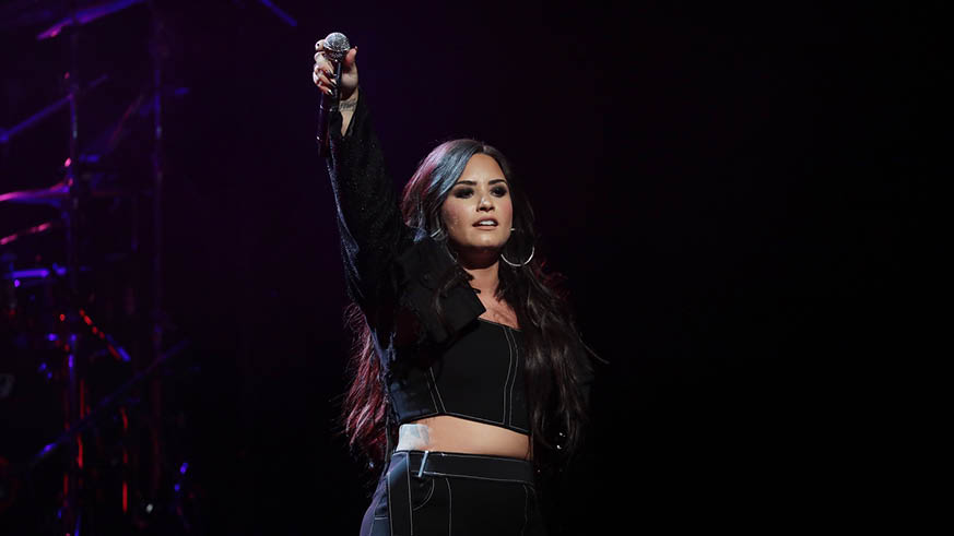 Demi Lovato Tour 2018 New York City