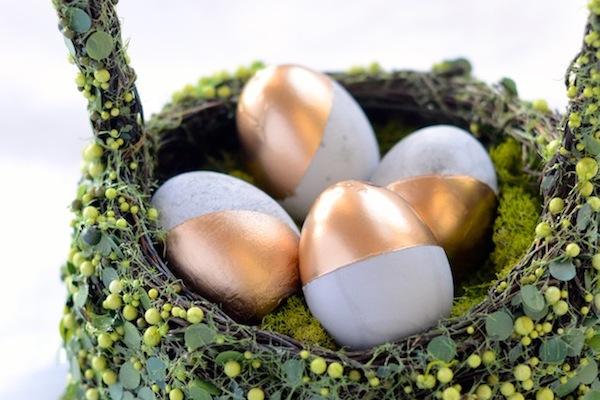DIY Cement Easter Eggs