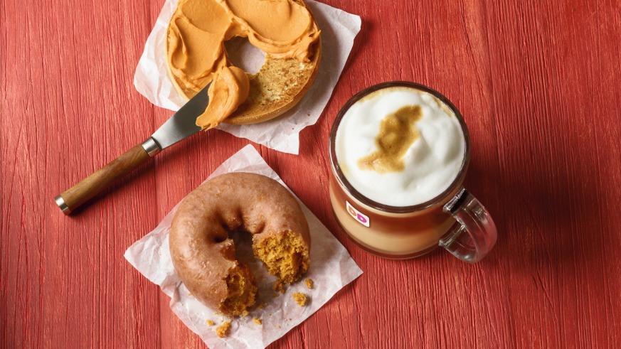 Dunkin Donuts Pumpkin Spice Latte