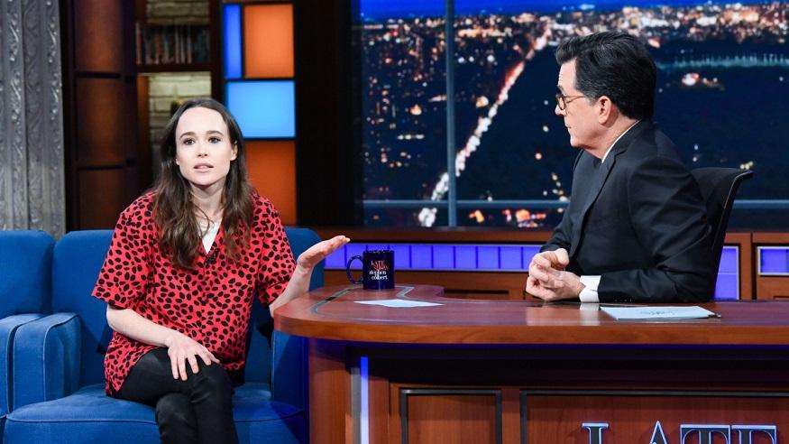 Ellen Page Colbert interview