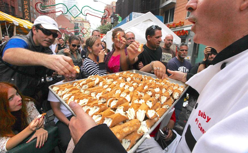 feast of san gennaro nyc little italy street festival