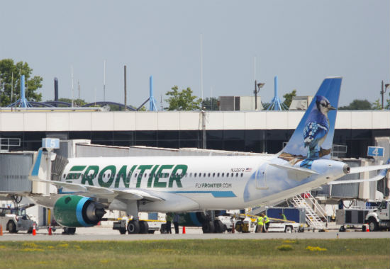 emotional support animals on Frontier Airlines