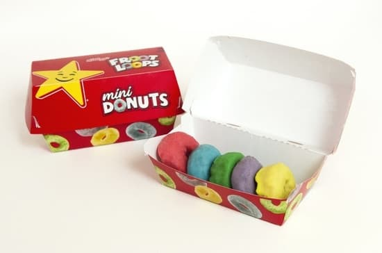 Froot Loops donuts mini