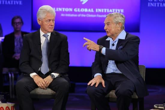 George Soros and Bill Clinton
