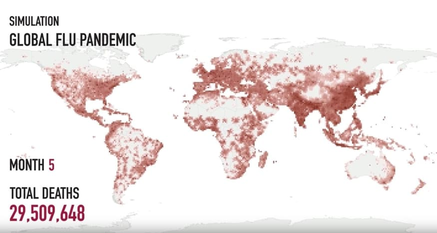 How a flu pandemic could take over the world