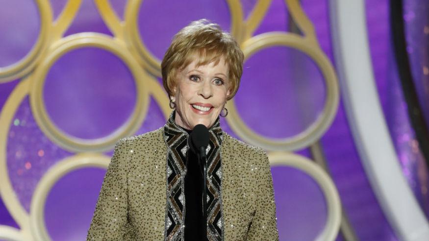 Golden Globes reactions Carol Burnett
