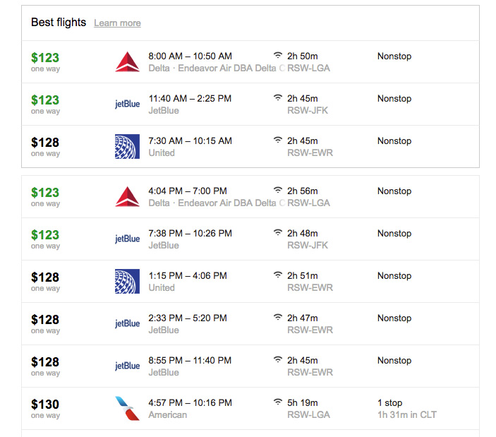 jetblue, google flights, book flight from florida, hurricane irma, reduced fares
