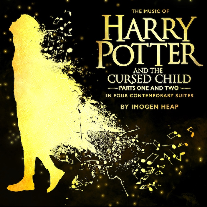 harry potter and the cursed child soundtrack cover art