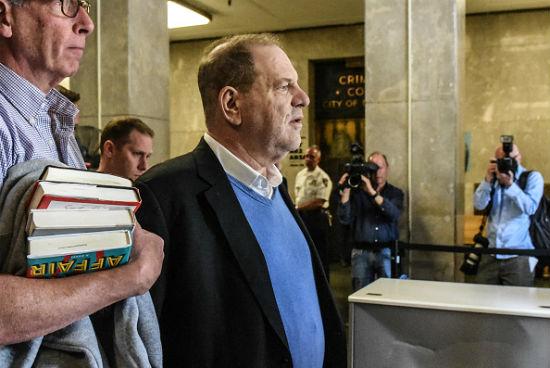 Harvey Weinstein accusers respond to his arrest