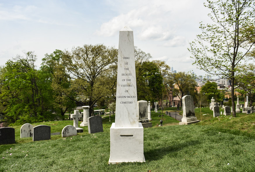 Here Lie the Secrets of the Visitors of Green-Wood Cemetery