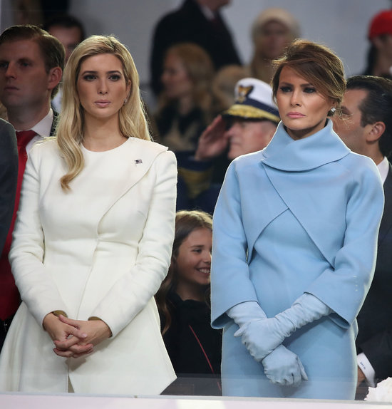 Ivanka Trump and First Lady Melania Trump both buy their own dresses for events