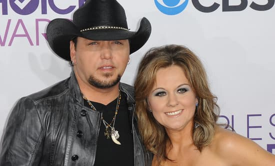 Jason Aldean and first wife Jessica Ussery