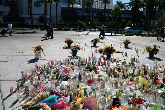 Jesus Campos Las Vegas Shooting Memorials