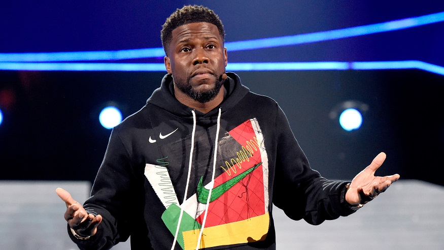 Kevin Hart performs