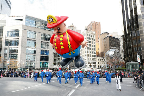 Macy's Thanksgiving Day Parade 2017 Harold Balloon