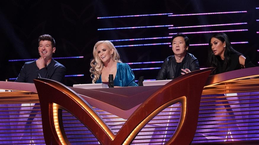 The Masked Singer celebrity judges assess latest contestant