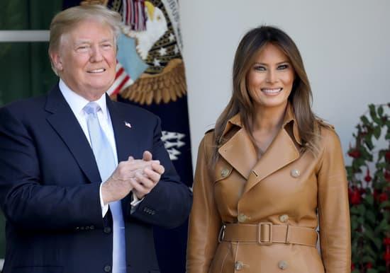 Donald Trump says Melania Trump is healing