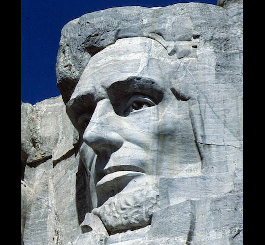 Mount Rushmore, Abraham Lincoln