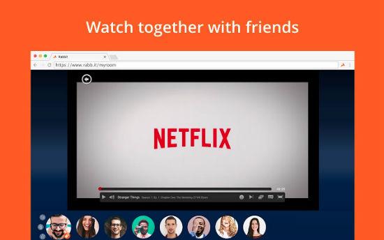 Sharing Netflix