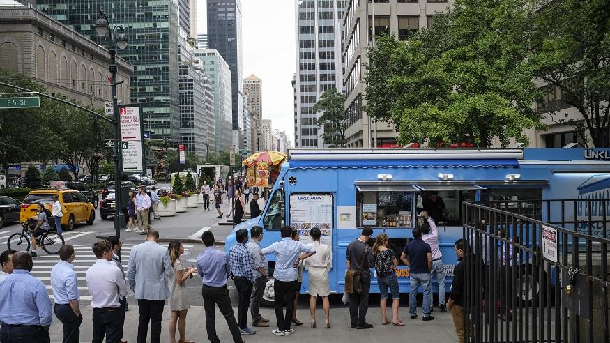 new york city food carts | new york city food trucks | nyc food letter grades