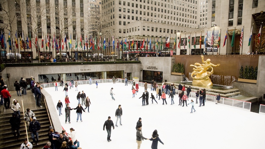 things to do in nyc winter outing 2-for-1 tickets the rink at rockefeller center