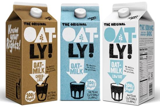 Oatly oak milk