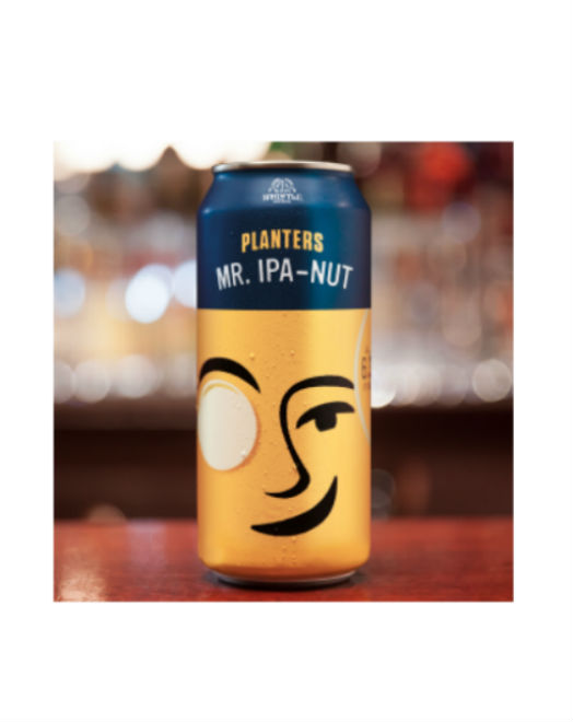 Peanut beer from Planters